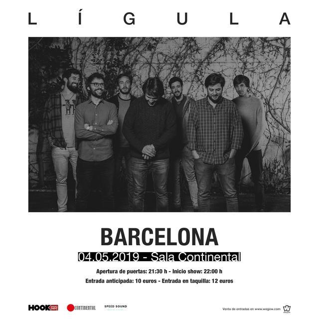 Concierto de Lígula en Barcelona