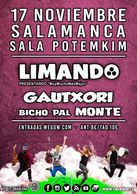 LIMANDO + GAUTXORI + BITXO PAL MONTE