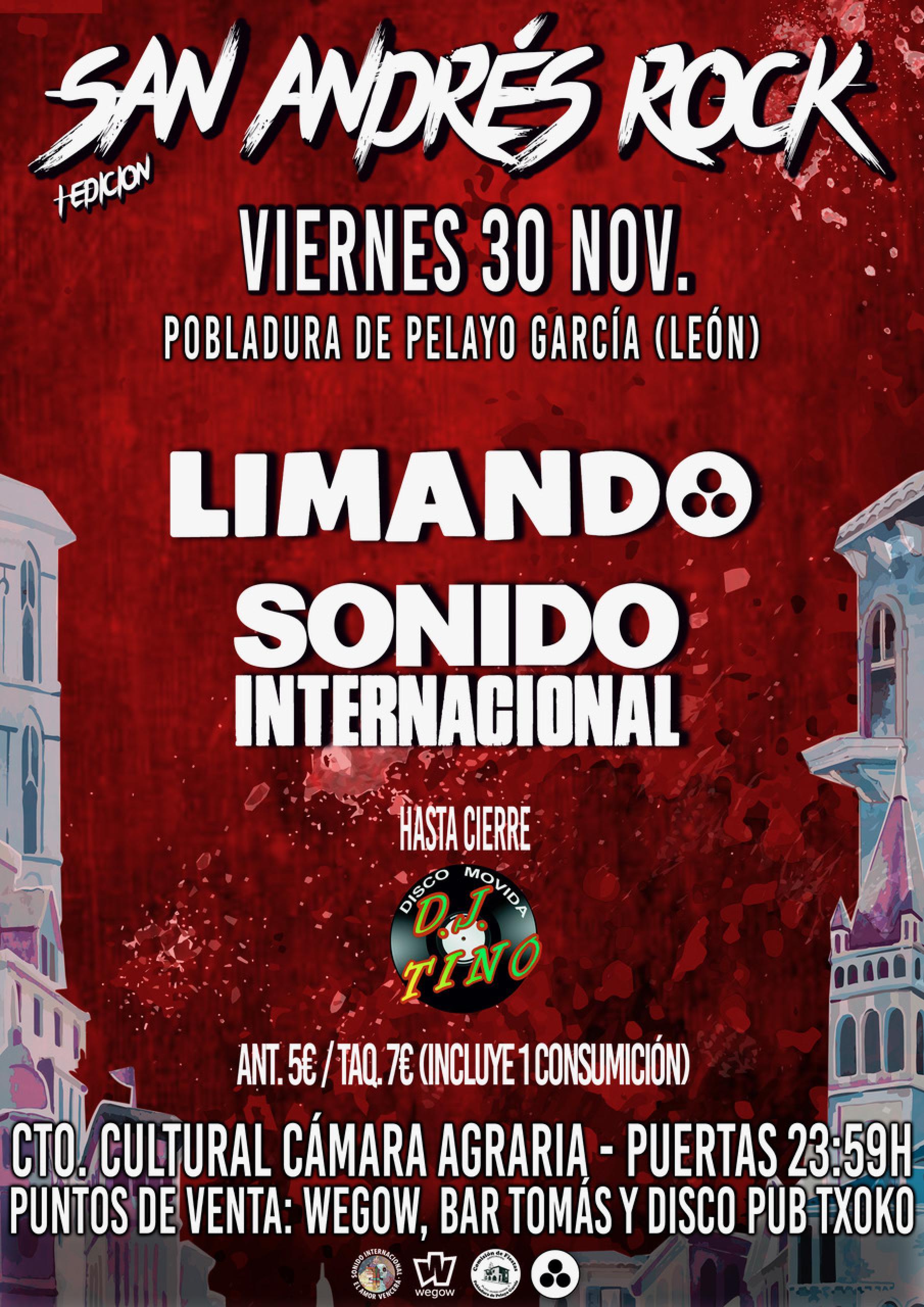 LIMANDO Y SONIDO INTERNACIONAL