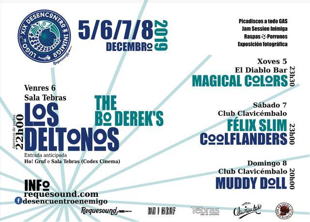 XIX Desencuentro Enemigo.  Del 5 al 8 de diciembre en Lugo