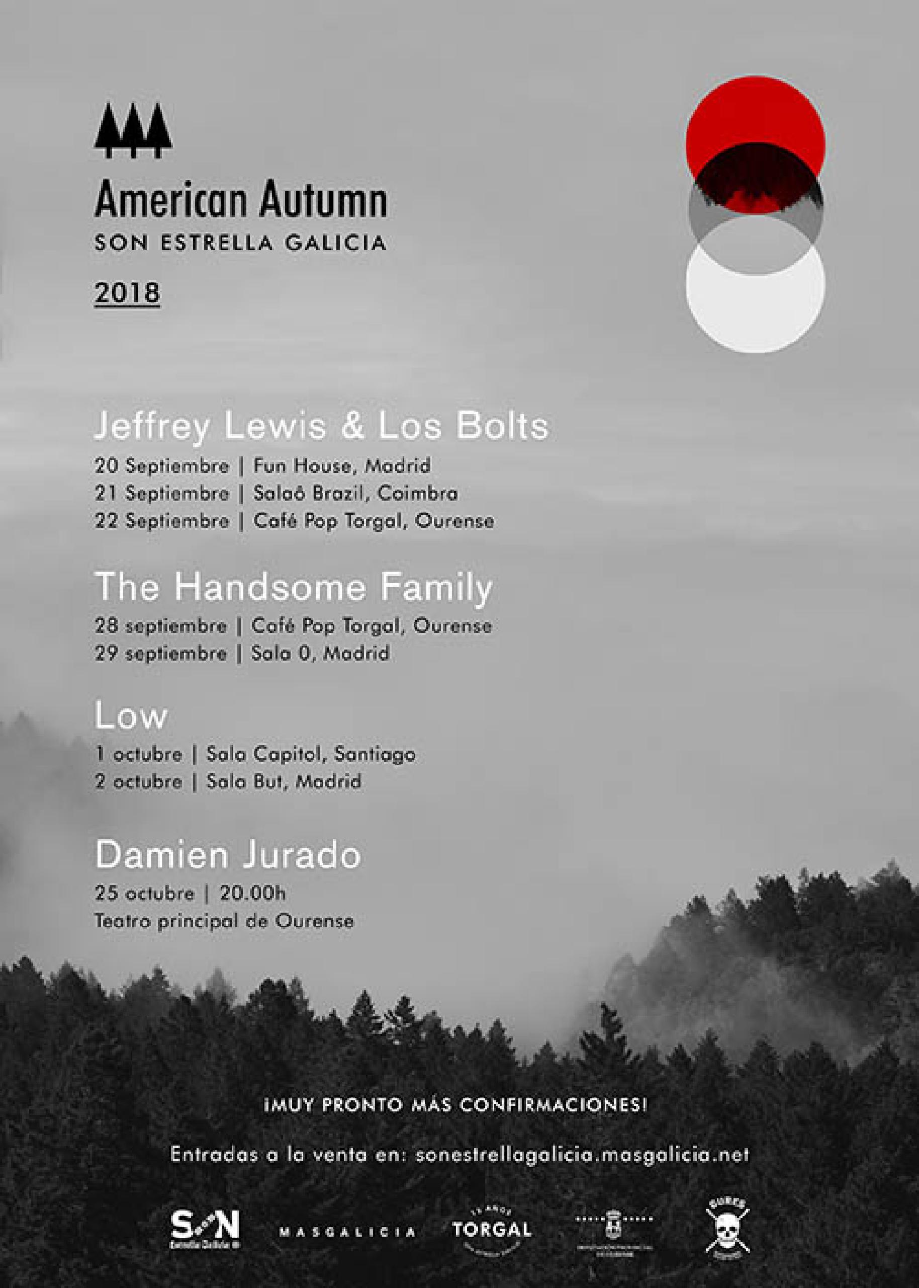Cartel American Autumn 2018