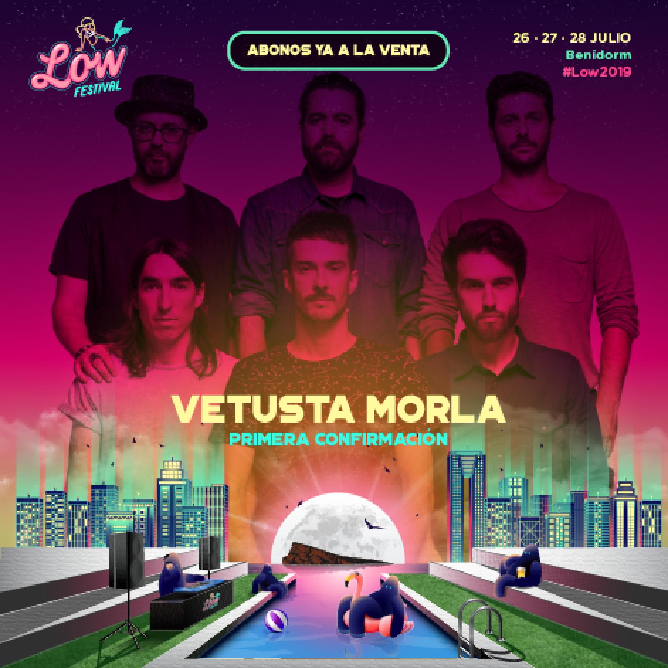 Primera confirmación Low Festival 2019 Vetusta Morla