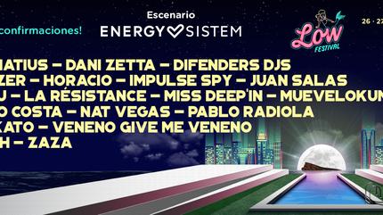 Escenario Energy Sistem Low Festival 2019