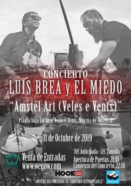 Concierto de Luis Brea en Valencia