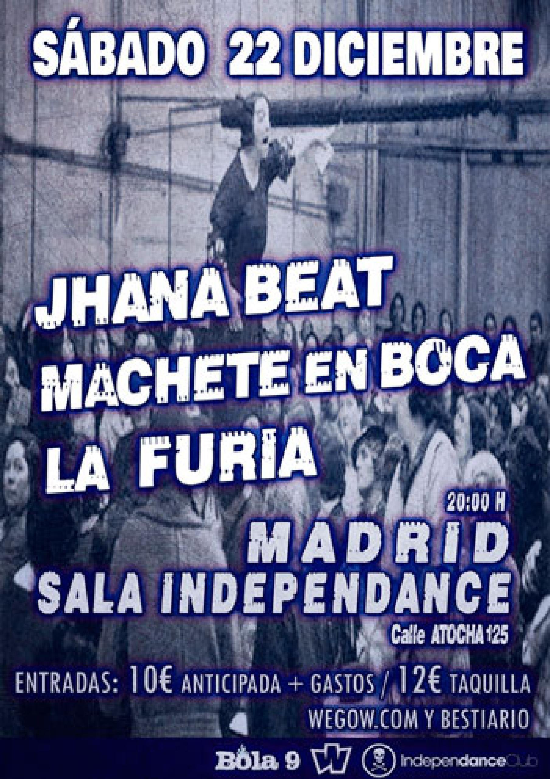 JHANA BEAT - MACHETE EN BOCA - LA FURIA