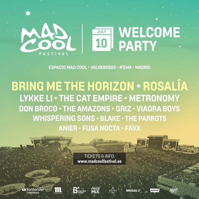 Cartel Mad cool Welcome Party 2019