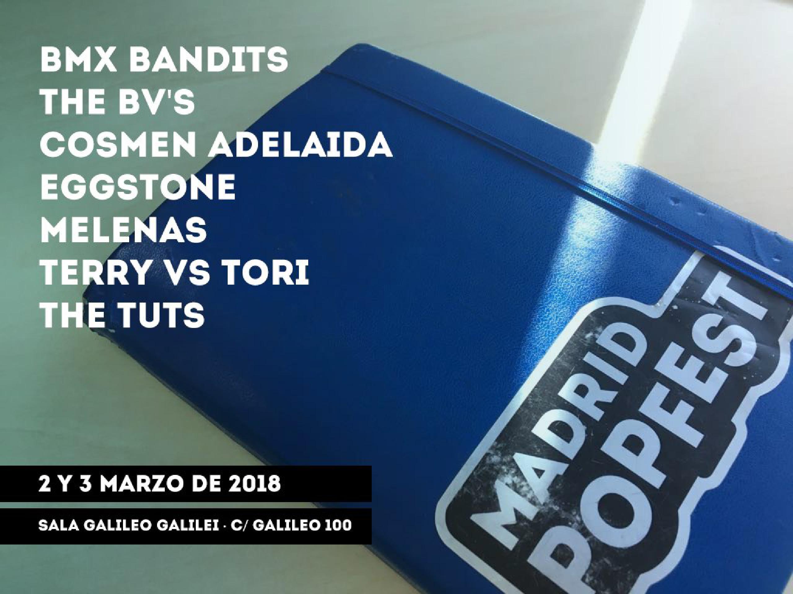 Cartel de Madrid Popfest 2018