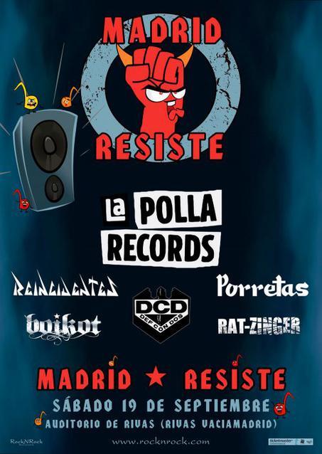 THIS TOWN ROCKS! Agenda de Conciertos Madrid-resiste-2020-la-polla-records-en-concierto-1579861909.-1x640