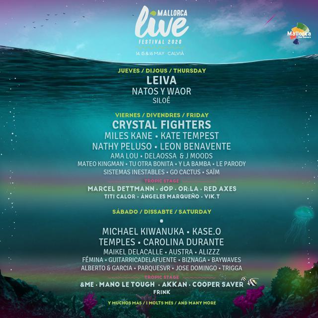Cartel del Mallorca Live 2020