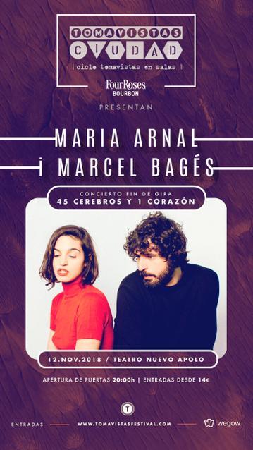 Maria Arnal i Marcel Bagés
