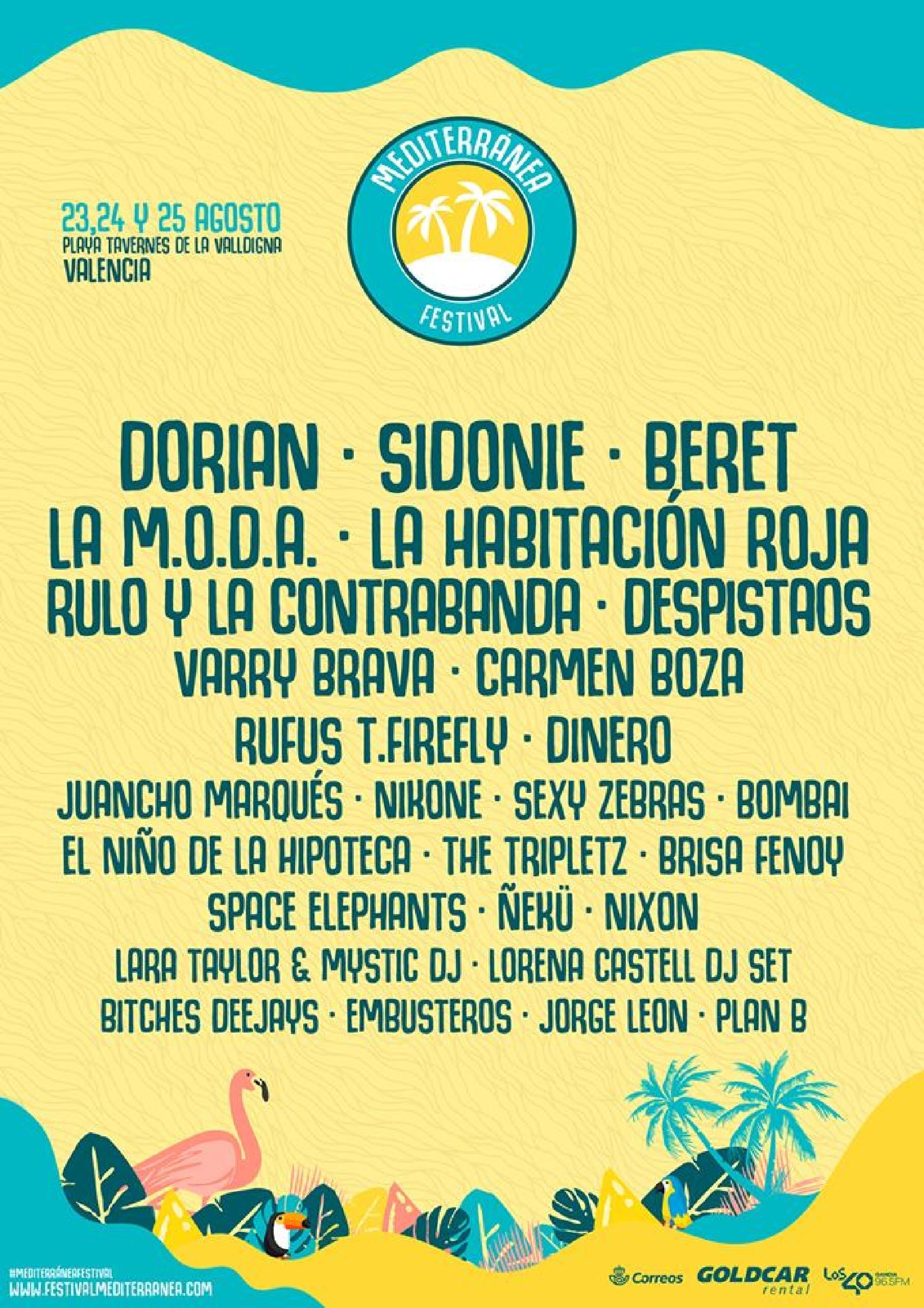 entradas mediterranea festival ya a la venta