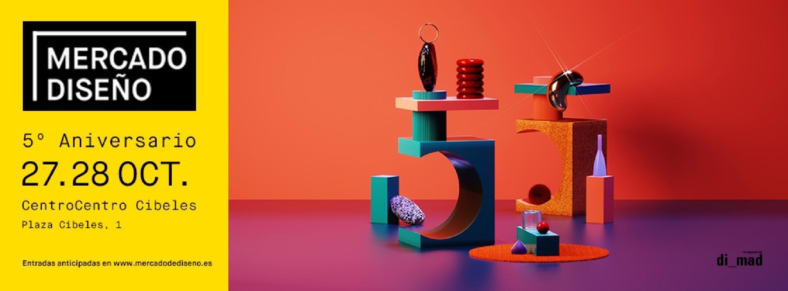 Mercado de Diseño 5º aniversario