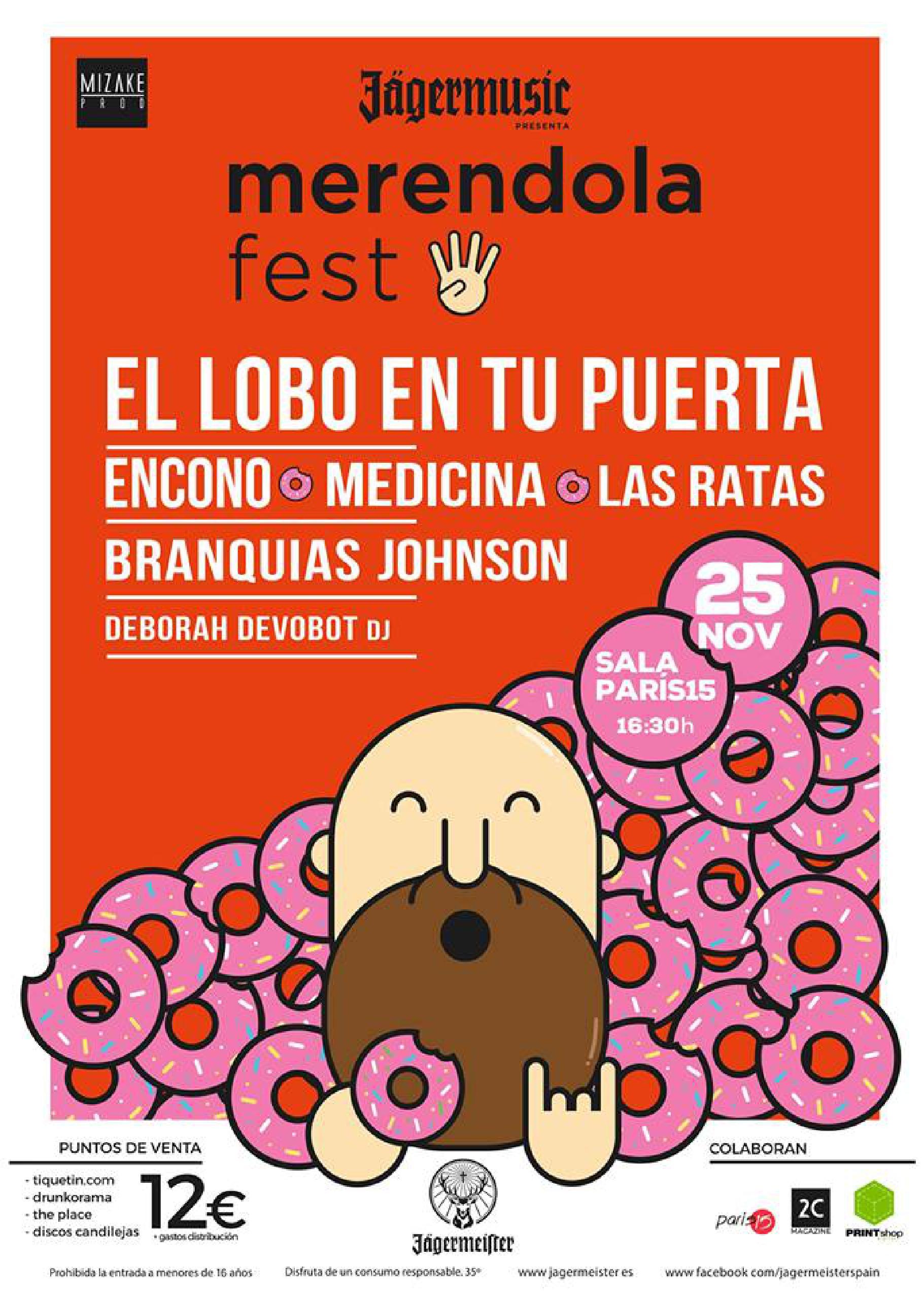 Cartel de Merendola Fest