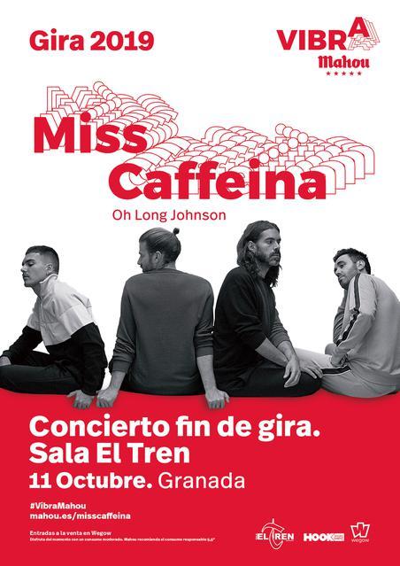 Concierto de Miss Caffeina en la sala El Tren de Granada