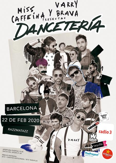 Cartel Dancetería Razzmatazz