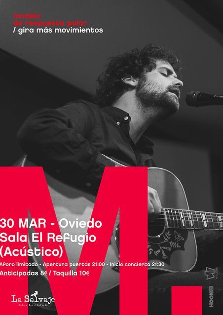 Borja Mompó en Oviedo