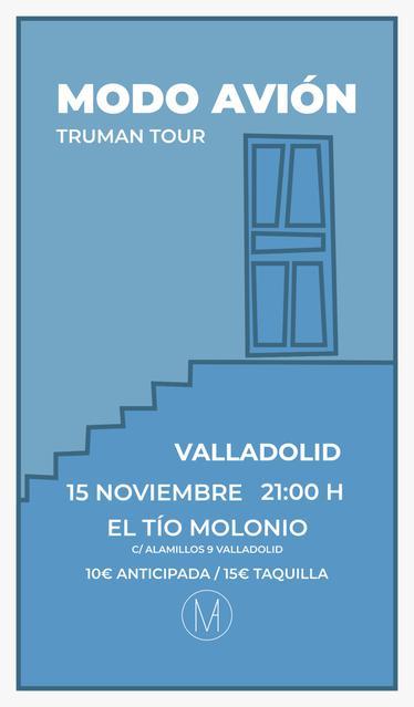 Concierto Modo Avión Valladolid
