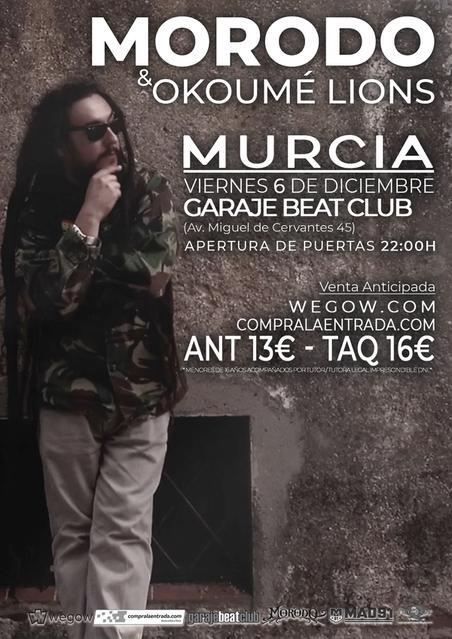 Murcia Garaje Beat Club 6 de diciembre