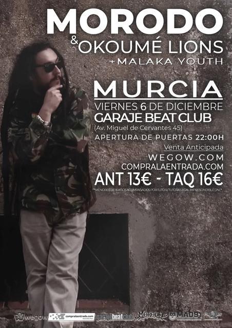 Morodo & okoumé Lions en Murcia + Malaka Youth