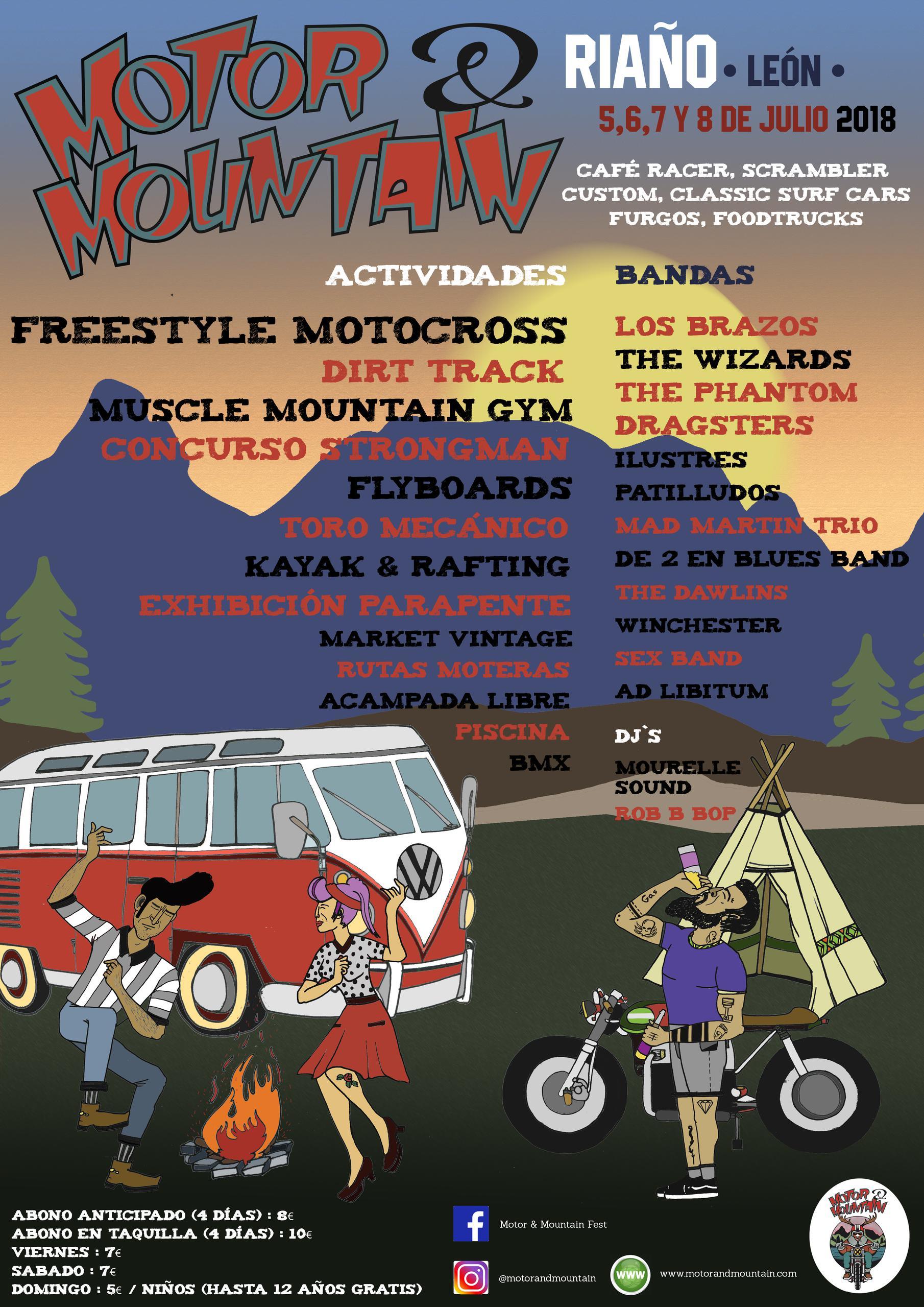 Cartel Motor & Mountain Fest 2018