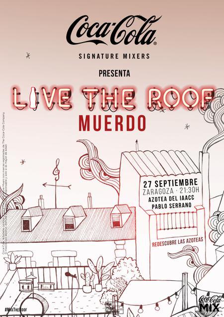 Muerdo en LIVE THE ROOF | Zaragoza