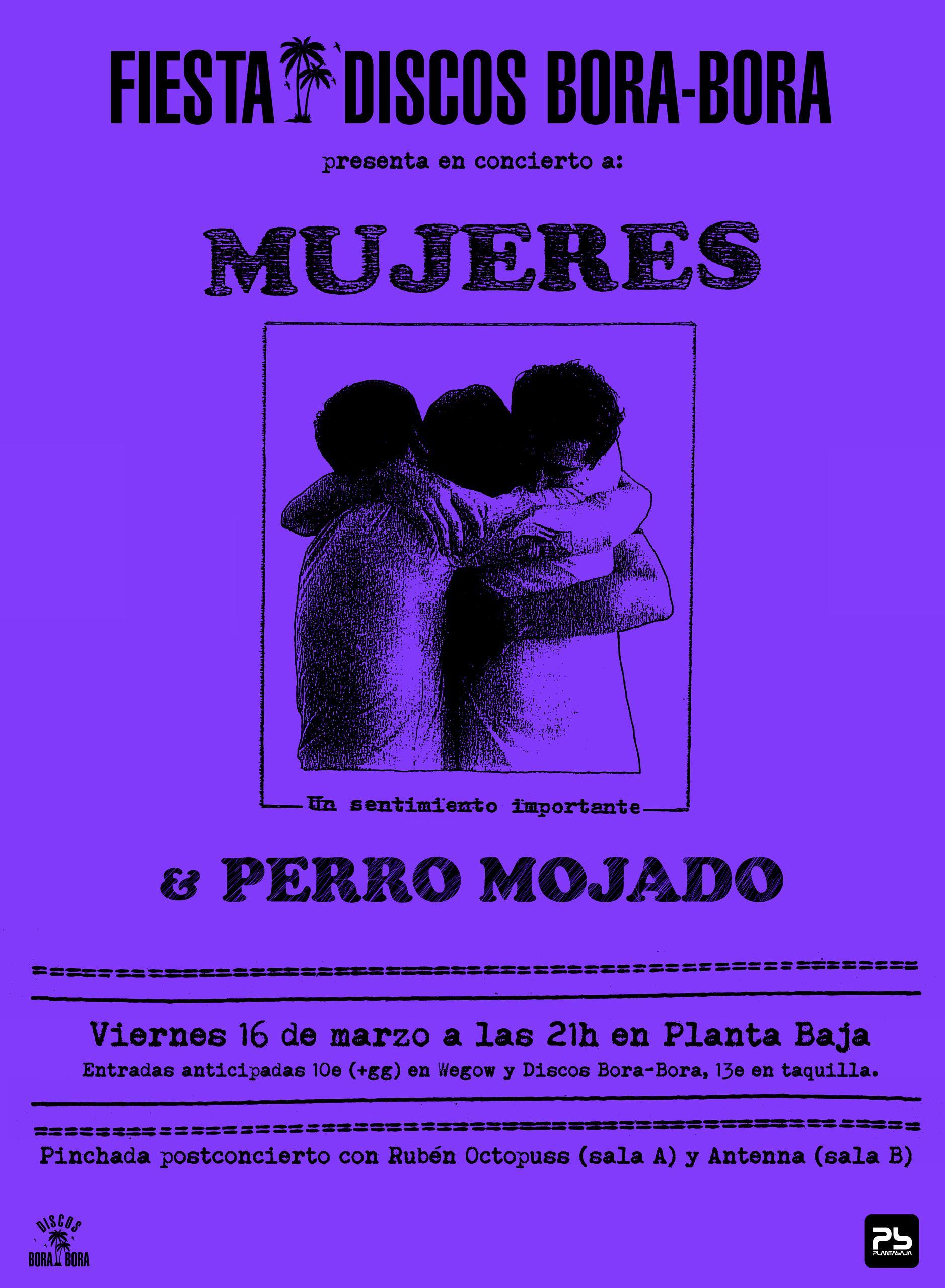 Cartel Mujeres en Granada