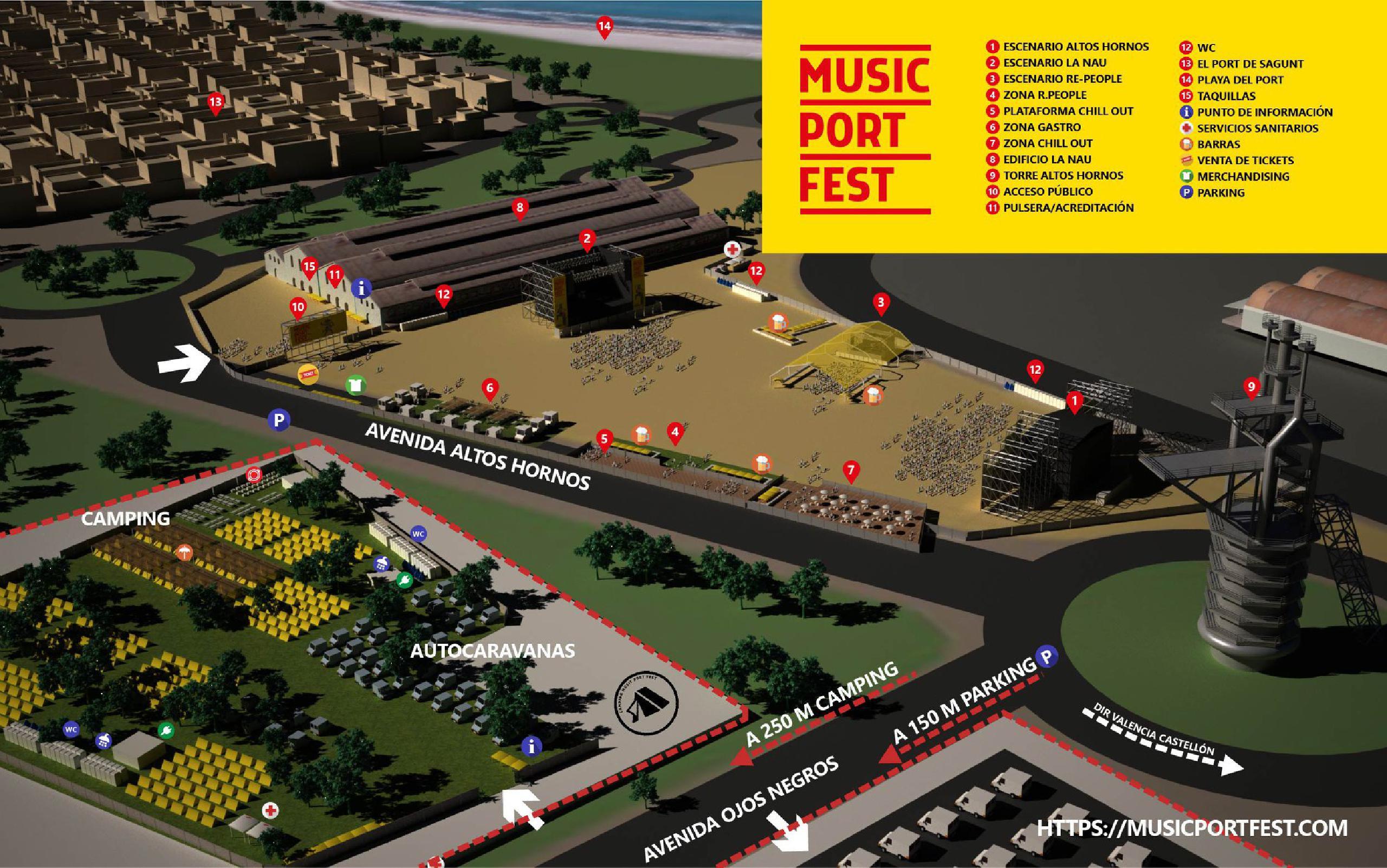 Recinto Music Port Fest 2018