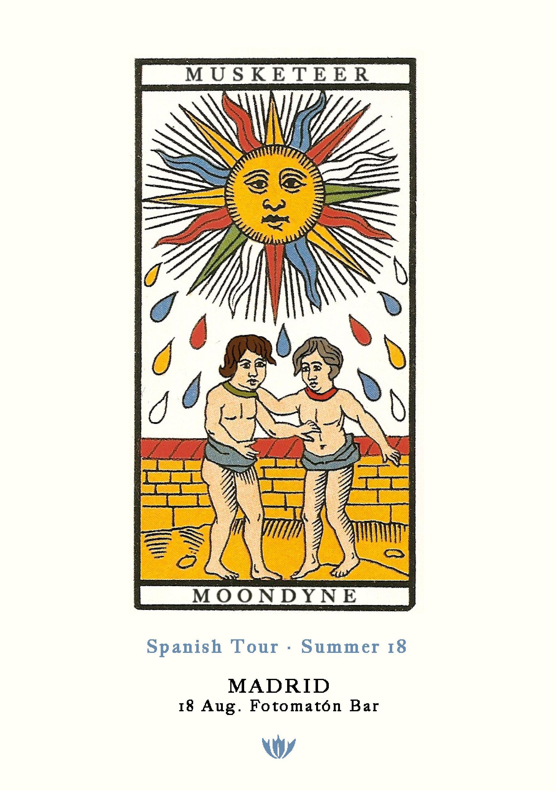Musketeer & Moondyne · Madrid · Spanish Tour · Summer '18