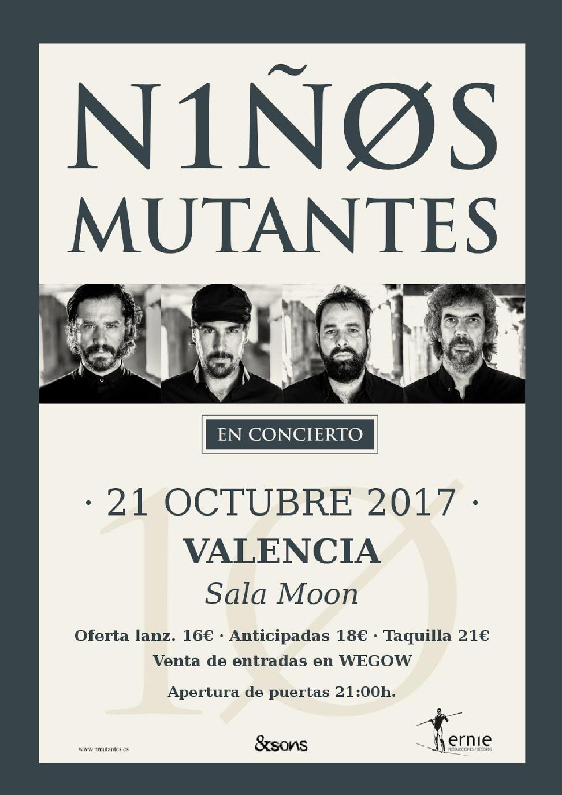 Niños Mutantes en Valencia