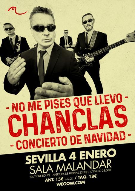 No Me Pises Que Llevo CHANCLAS en Sevilla. Sala Malandar