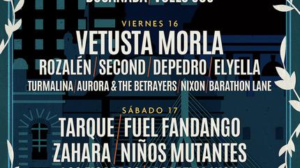 Cartel por días No Sin Música 2019