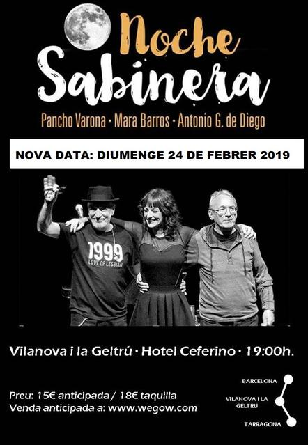 Noche Sabinera en Vilanova i la Geltrú