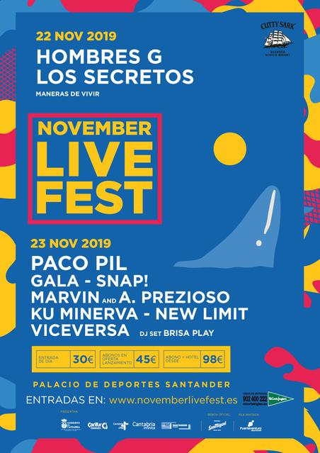 Cartel November Live Fest 2019