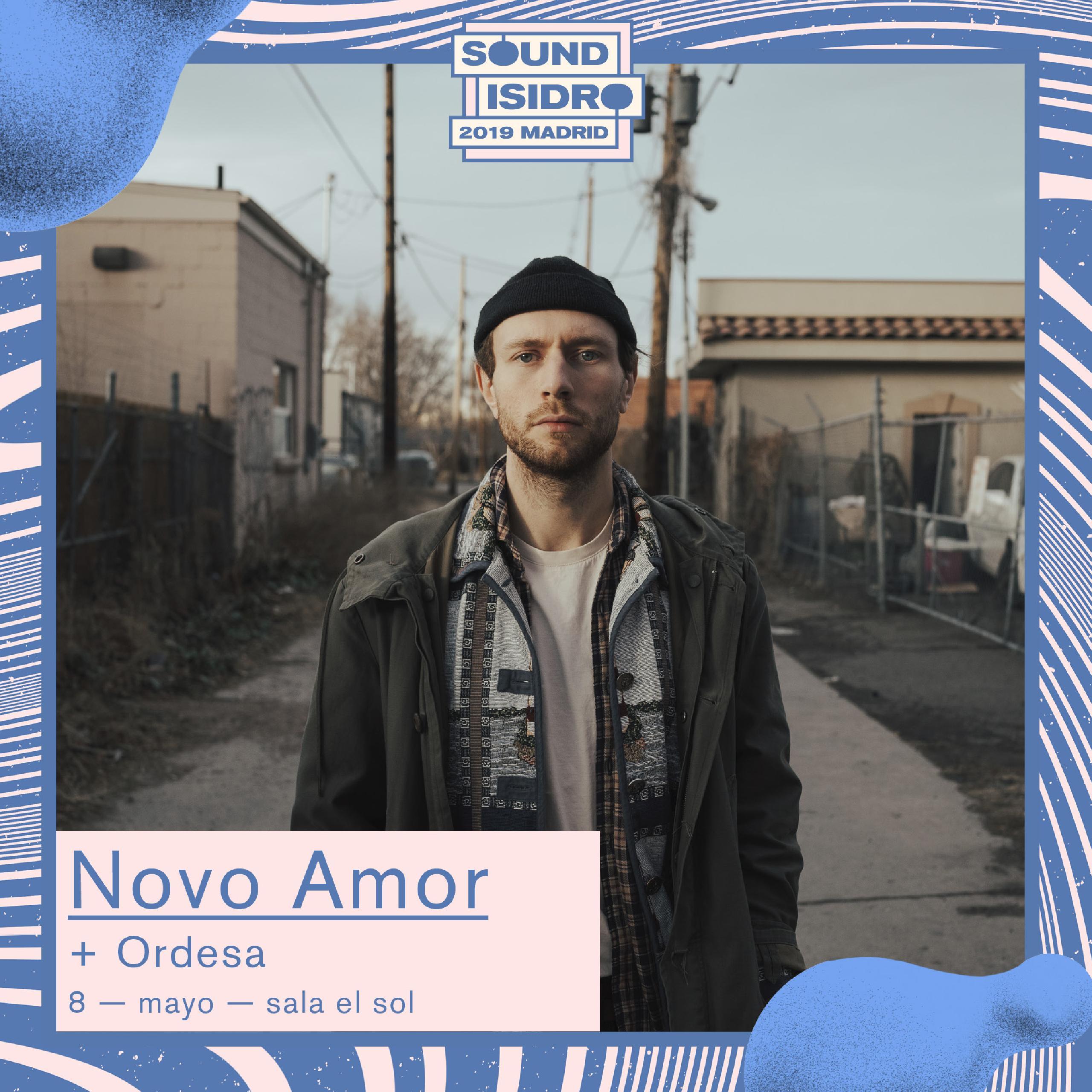 Novo Amor Ordesa concierto Madrid Sound Isidro Sala El Sol