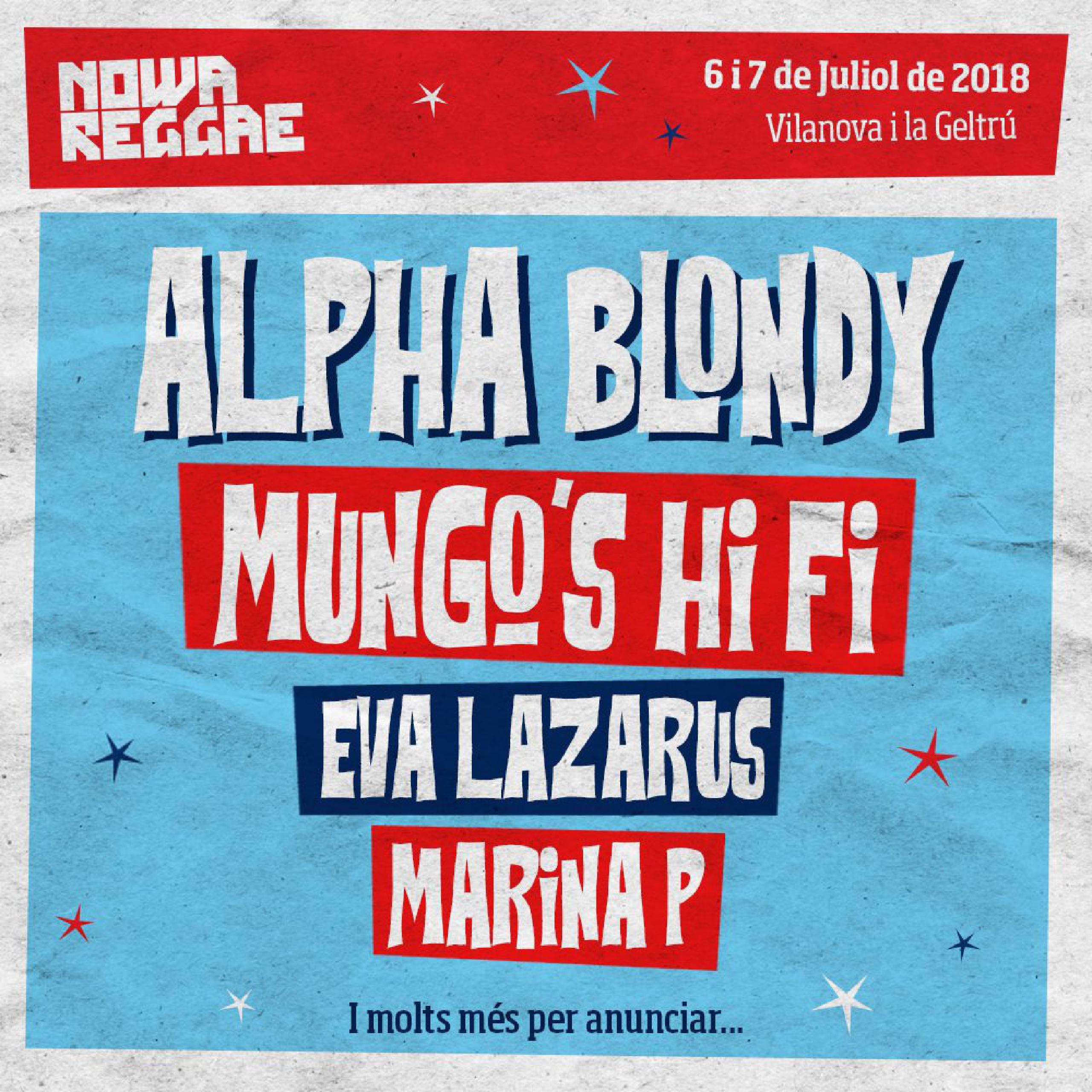 Primeras confirmaciones Nowa Reggae 2018