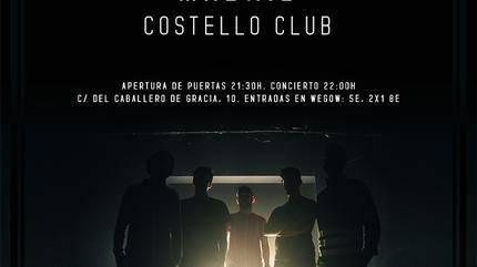 Octubre Polar presenta 'La Tormenta Perfecta' en Costello Club, Madrid