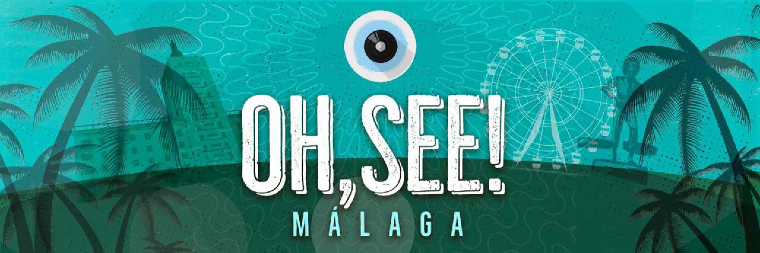 Cartel confirmaciones Oh See! Málaga 2018