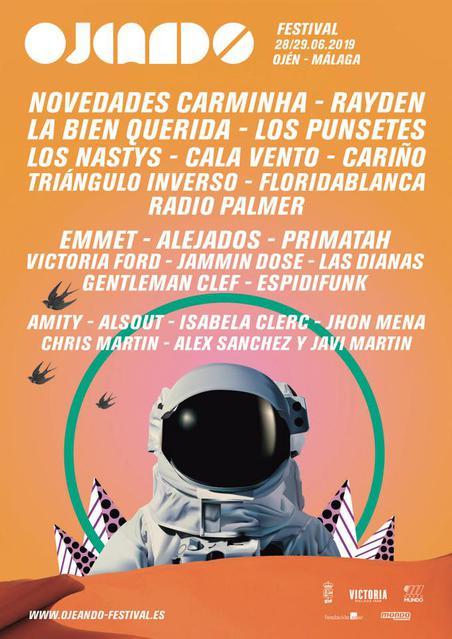 Cartel Ojeando Festival 2019