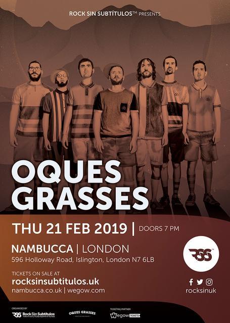 Jueves 21 febrero 2019 / 19 horas @ Nambucca, Londres