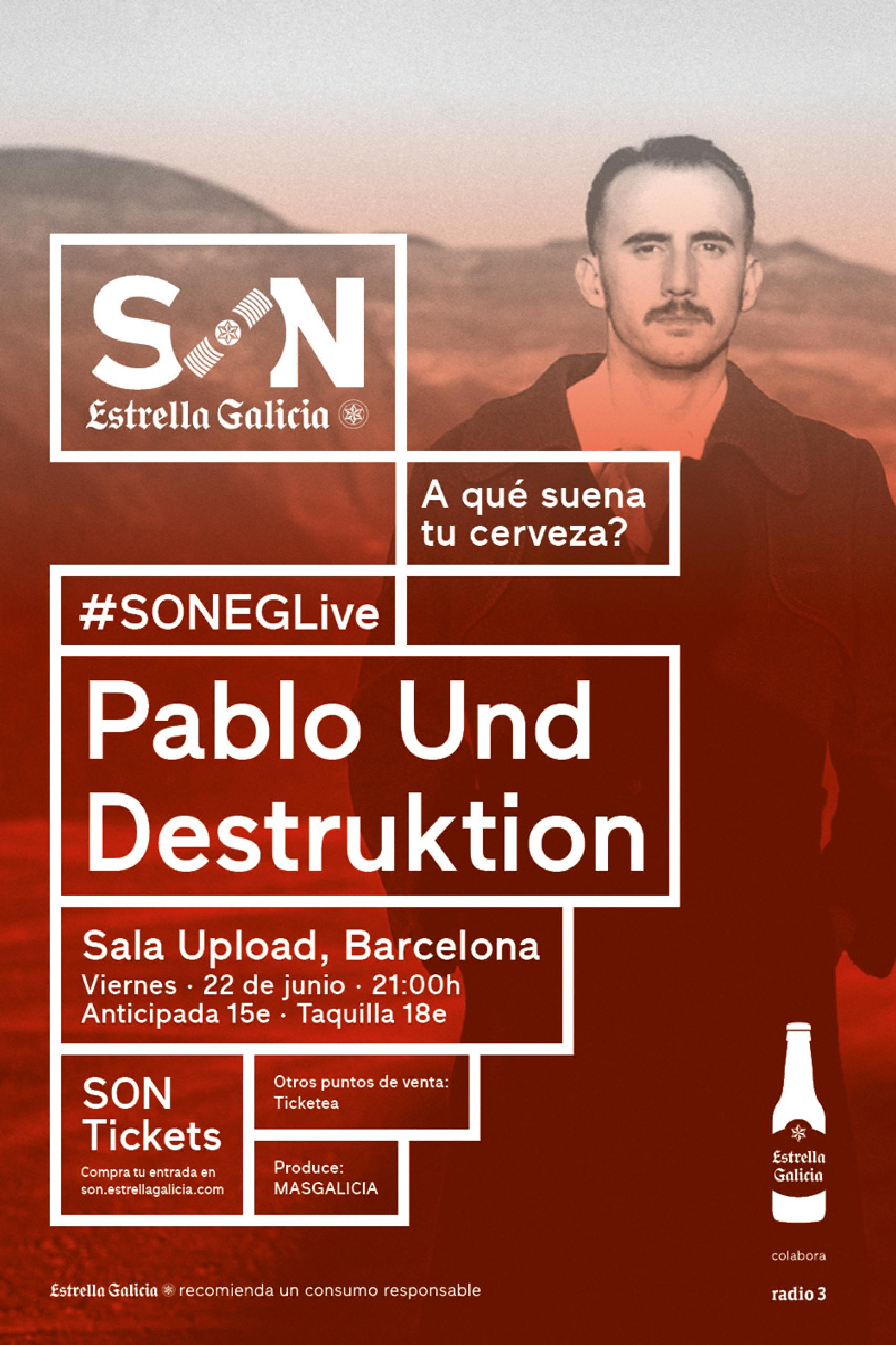 SON Estrella Galicia cartel