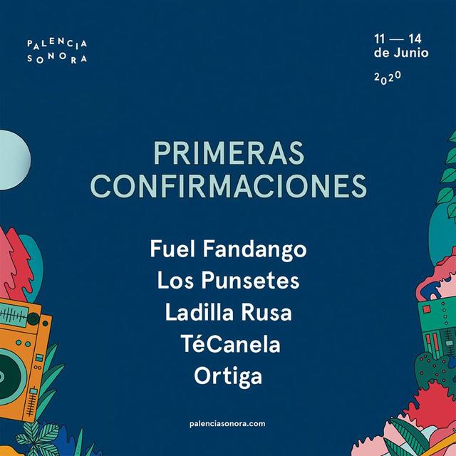 Cartel de Palencia Sonora 2020