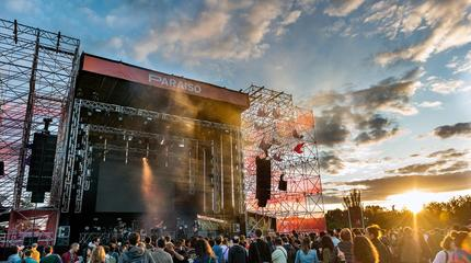 Escenario Festival Paraíso