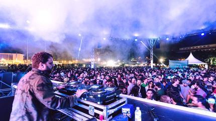 Sesión dj Paraíso Festival