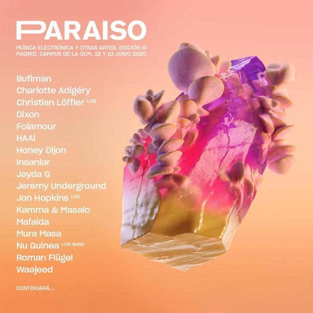 Cartel de Paraíso Festival 2020