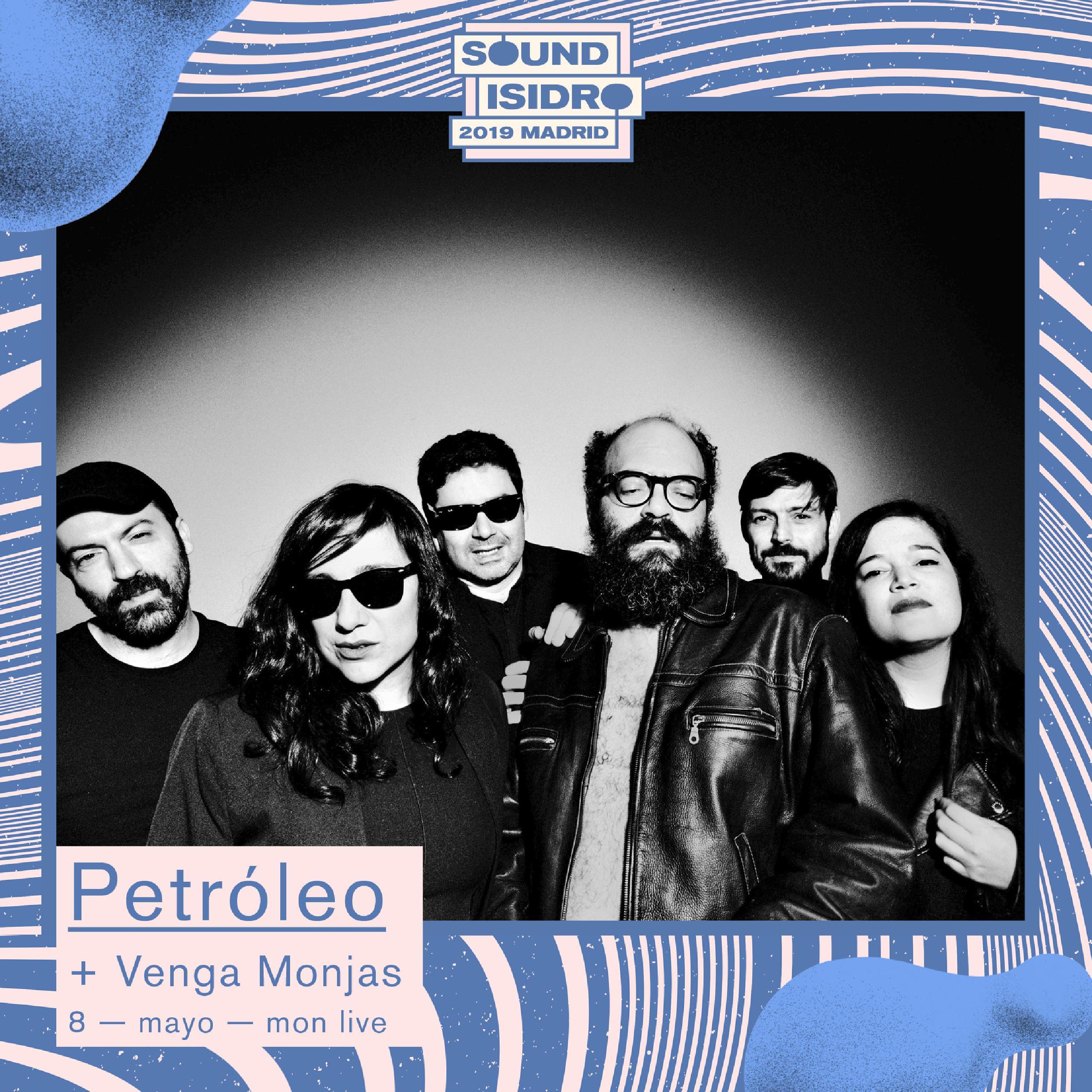 Petróleo concierto Madrid Mon Live Sound Isidro