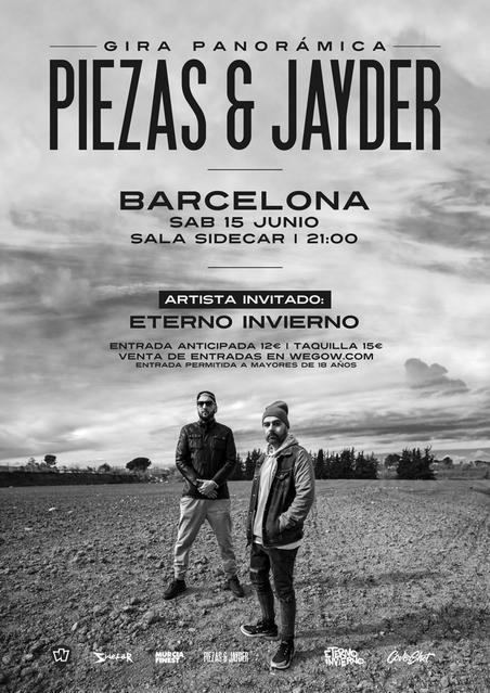 Piezas & Jayder en Barcelona