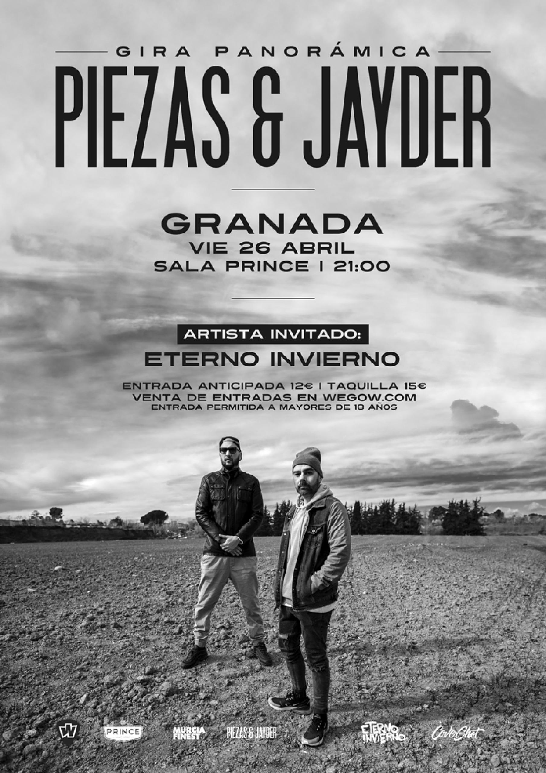Piezas &Jayder en Granada