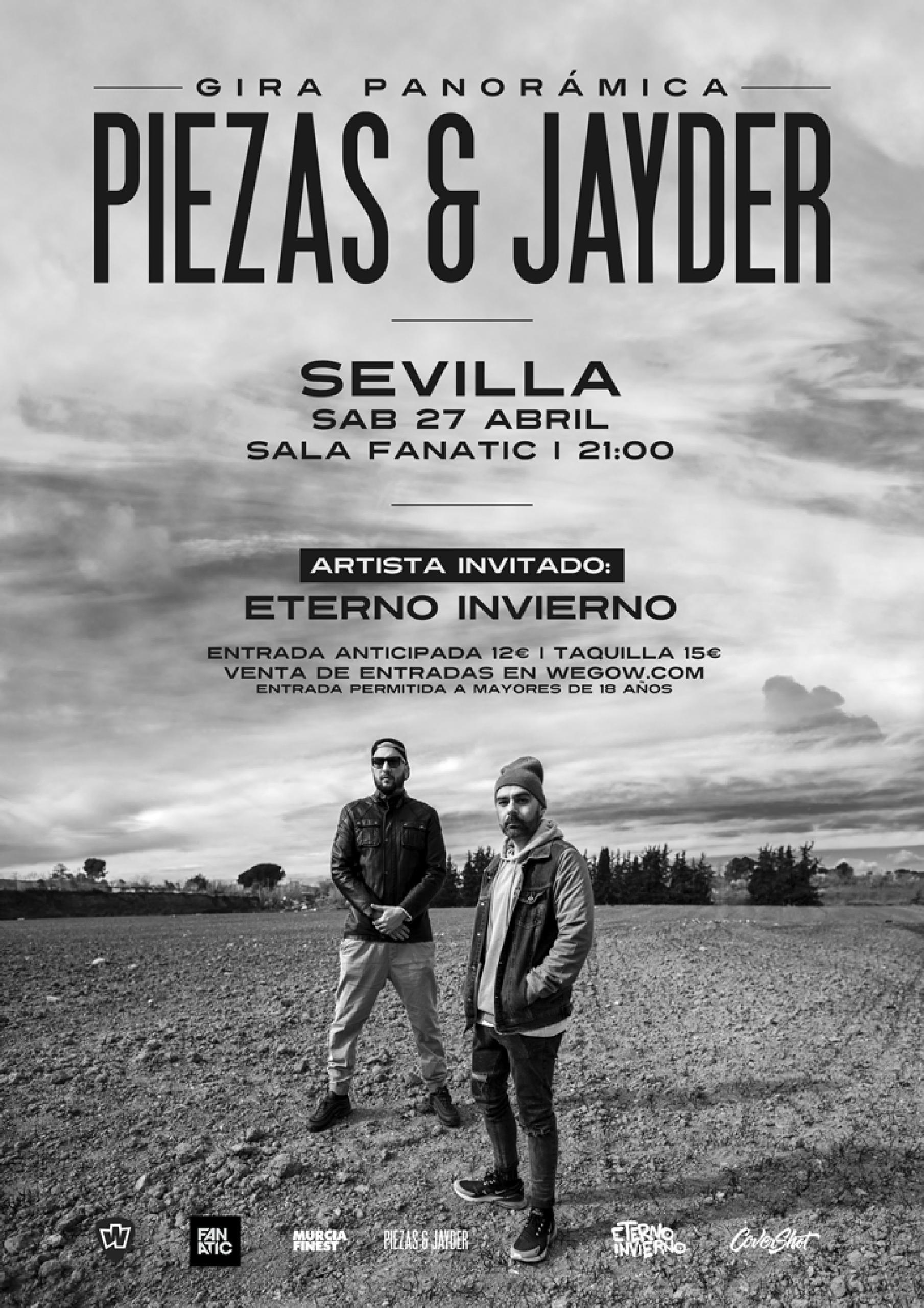 Piezas & Jayder en Sevilla