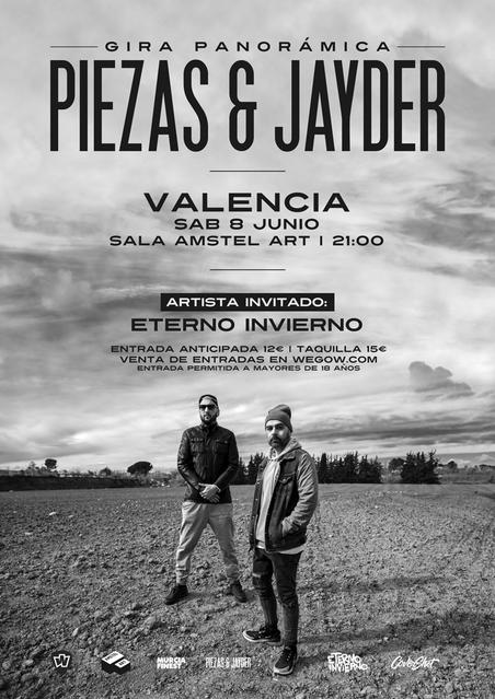 Piezas & Jayder en Valencia