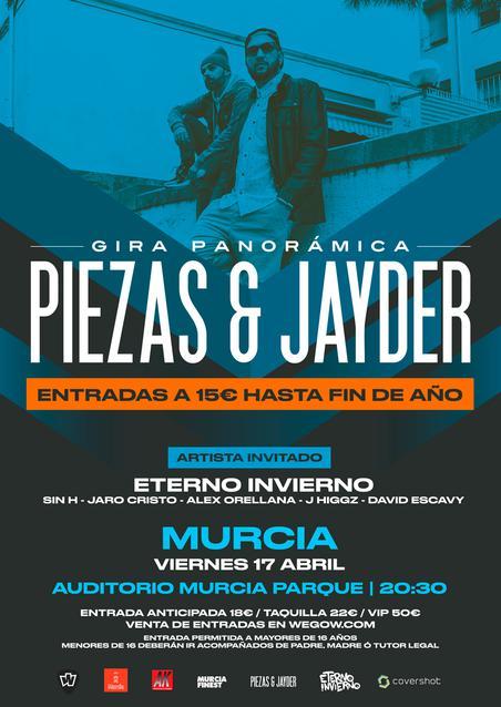 Piezas & Jayder Fin de Gira